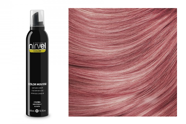 (Nirvel) Color Mousse - Mahogany (300 ml), NIRVEL