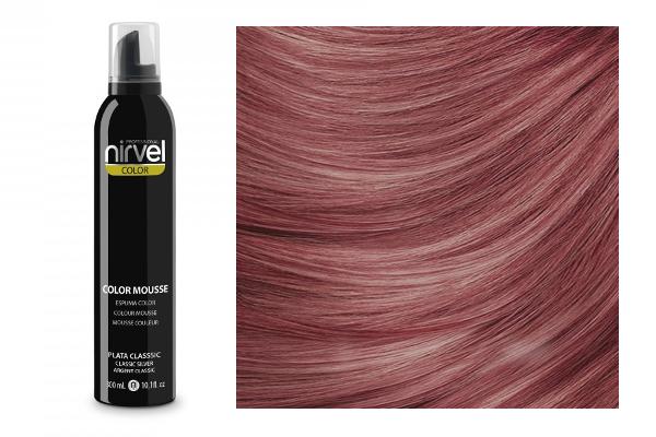 Hair cosmetics : (Nirvel) Color Mousse - Dark Mahogany (300 ml) NIRVEL