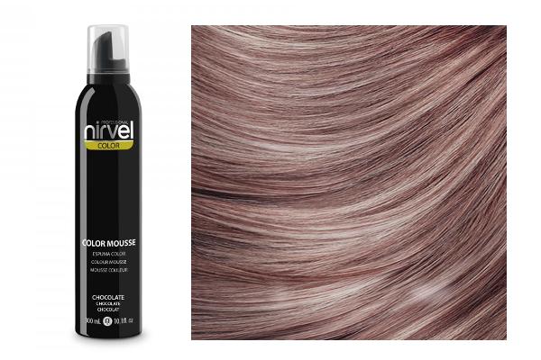 Hair cosmetics : (Nirvel) Color Mousse - Chocolate (300 ml) NIRVEL